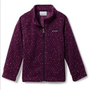 Columbia Fleece 12-18 mo NWT Purple Dahlia